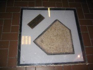 Home Plate from Forbes Field